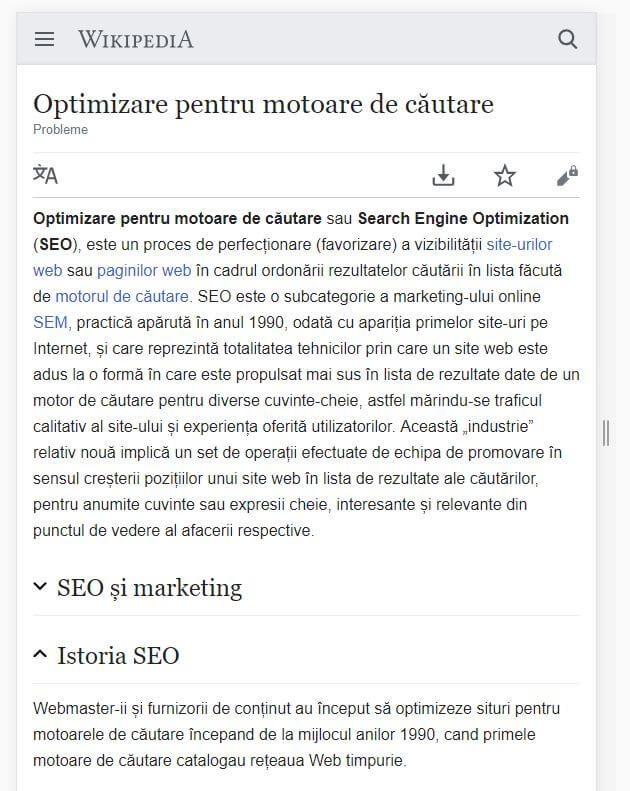 continut ascuns css seo mobile first indexing