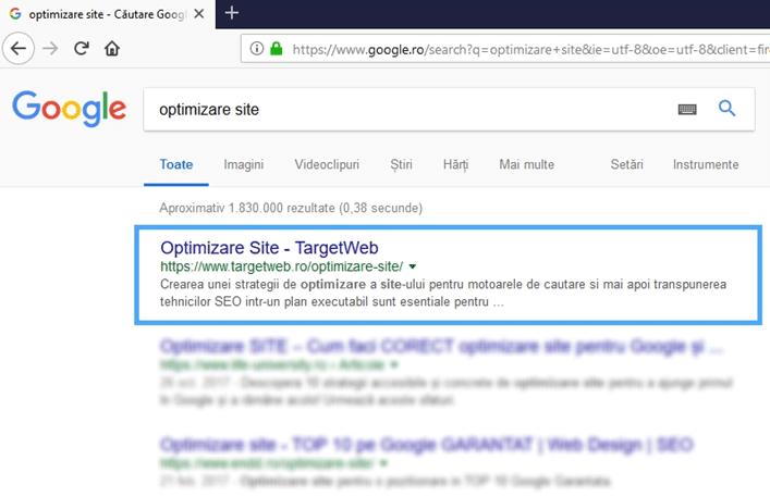oferim servicii de optimizare site-uri web