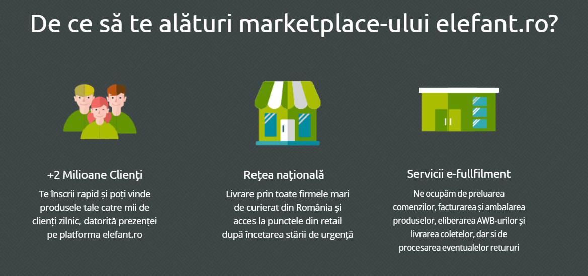 Elefant marketplace